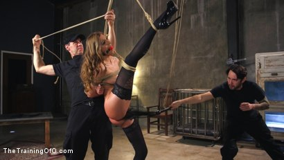 Photo number 3 from Breaking in the New Recruit: Moka Mora shot for The Training Of O on Kink.com. Featuring Moka Mora and Tommy Pistol in hardcore BDSM & Fetish porn.