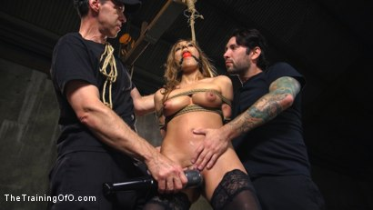 Photo number 4 from Breaking in the New Recruit: Moka Mora shot for The Training Of O on Kink.com. Featuring Moka Mora and Tommy Pistol in hardcore BDSM & Fetish porn.