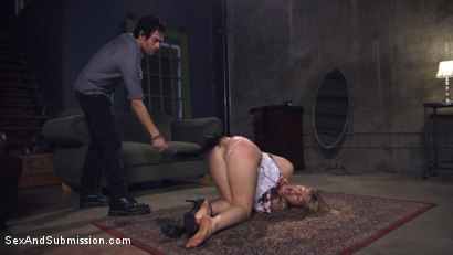 Photo number 5 from Blackmail Lust 2  American Criminal shot for Sex And Submission on Kink.com. Featuring Xander Corvus and Zoey Monroe in hardcore BDSM & Fetish porn.