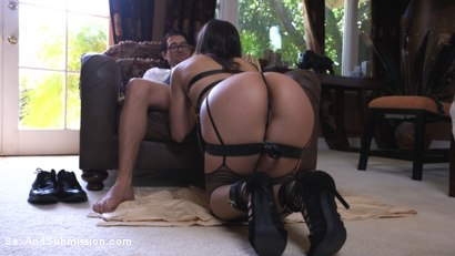 Photo number 1 from The Sex Toy shot for Sex And Submission on Kink.com. Featuring Xander Corvus and Abella Danger in hardcore BDSM & Fetish porn.