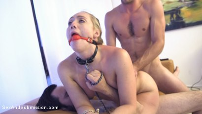 Photo number 10 from Chance to Advance shot for Sex And Submission on Kink.com. Featuring Lucas Frost , AJ Applegate and Tommy Pistol in hardcore BDSM & Fetish porn.
