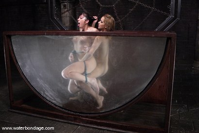 Photo number 13 from Isis Love and Satine Phoenix shot for Water Bondage on Kink.com. Featuring Isis Love and Satine Phoenix in hardcore BDSM & Fetish porn.