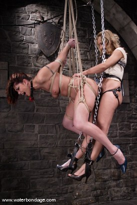 Photo number 4 from Isis Love and Satine Phoenix shot for Water Bondage on Kink.com. Featuring Isis Love and Satine Phoenix in hardcore BDSM & Fetish porn.