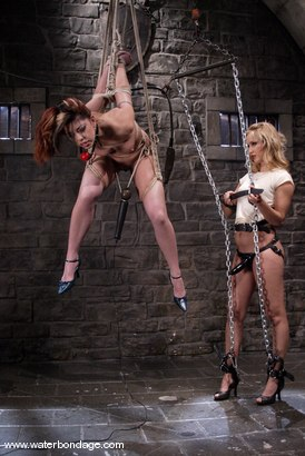 Photo number 3 from Isis Love and Satine Phoenix shot for Water Bondage on Kink.com. Featuring Isis Love and Satine Phoenix in hardcore BDSM & Fetish porn.