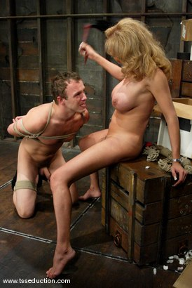Photo number 9 from Billy and Gia Darling shot for TS Seduction on Kink.com. Featuring Gia Darling and Billy in hardcore BDSM & Fetish porn.