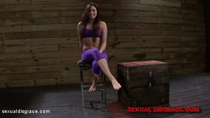Photo number 2 from Stella May Enjoys Being Used shot for Sexual Disgrace on Kink.com. Featuring Stella May and James Kickstand in hardcore BDSM & Fetish porn.