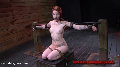 Photo number 1 from Sheena Rose's Tight Pussy is Left Gaping shot for Sexual Disgrace on Kink.com. Featuring Sheena Rose and James Kickstand in hardcore BDSM & Fetish porn.