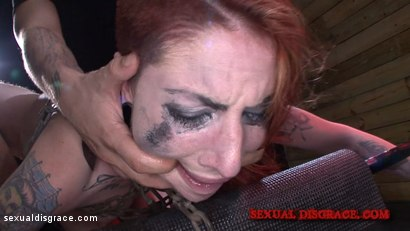 Photo number 14 from Sheena Rose's Tight Pussy is Left Gaping shot for Sexual Disgrace on Kink.com. Featuring Sheena Rose in hardcore BDSM & Fetish porn.