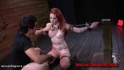 Photo number 8 from Sheena Rose's Tight Pussy is Left Gaping shot for Sexual Disgrace on Kink.com. Featuring Sheena Rose in hardcore BDSM & Fetish porn.