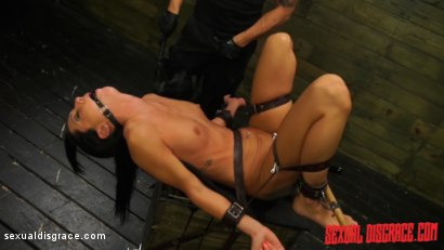 Photo number 12 from Sabrina Banks #1 Sexual Disgrace Dungeon Gangster shot for Sexual Disgrace on Kink.com. Featuring Sabrina Banks in hardcore BDSM & Fetish porn.