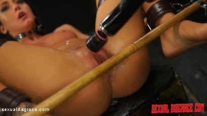 Photo number 13 from Sabrina Banks #1 Sexual Disgrace Dungeon Gangster shot for Sexual Disgrace on Kink.com. Featuring Sabrina Banks in hardcore BDSM & Fetish porn.