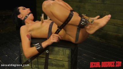 Photo number 3 from Sabrina Banks #1 Sexual Disgrace Dungeon Gangster shot for Sexual Disgrace on Kink.com. Featuring Sabrina Banks in hardcore BDSM & Fetish porn.