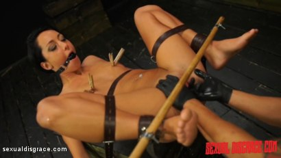 Photo number 4 from Sabrina Banks #1 Sexual Disgrace Dungeon Gangster shot for Sexual Disgrace on Kink.com. Featuring Sabrina Banks in hardcore BDSM & Fetish porn.