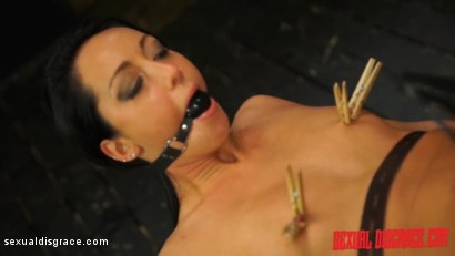 Photo number 5 from Sabrina Banks #1 Sexual Disgrace Dungeon Gangster shot for Sexual Disgrace on Kink.com. Featuring Sabrina Banks in hardcore BDSM & Fetish porn.