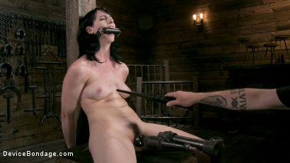 Photo number 1 from Fresh Meat - Alex Harper Gets Her 1st Taste of Domination and Bondage shot for Device Bondage on Kink.com. Featuring Alex Harper and The Pope in hardcore BDSM & Fetish porn.