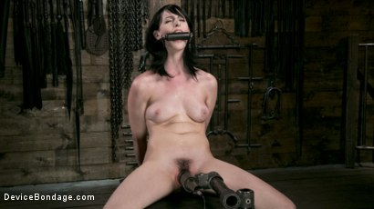 Photo number 8 from Fresh Meat - Alex Harper Gets Her 1st Taste of Domination and Bondage shot for Device Bondage on Kink.com. Featuring Alex Harper and The Pope in hardcore BDSM & Fetish porn.