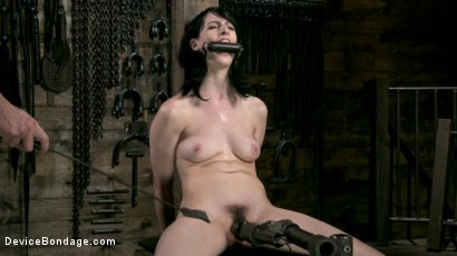 Photo number 9 from Fresh Meat - Alex Harper Gets Her 1st Taste of Domination and Bondage shot for Device Bondage on Kink.com. Featuring Alex Harper and The Pope in hardcore BDSM & Fetish porn.