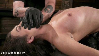 Photo number 10 from Newcomer Melissa Moore Submits to Screaming Bondage shot for Device Bondage on Kink.com. Featuring Melissa Moore in hardcore BDSM & Fetish porn.