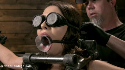 Photo number 3 from Newcomer Melissa Moore Submits to Screaming Bondage shot for Device Bondage on Kink.com. Featuring Melissa Moore in hardcore BDSM & Fetish porn.