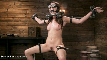 Newcomer Melissa Moore Submits to Screaming Bondage