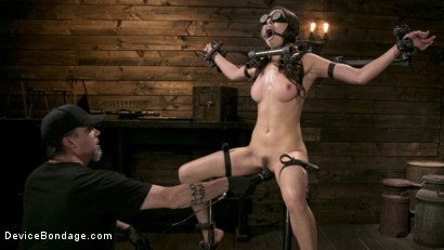 Photo number 5 from Newcomer Melissa Moore Submits to Screaming Bondage shot for Device Bondage on Kink.com. Featuring Melissa Moore in hardcore BDSM & Fetish porn.