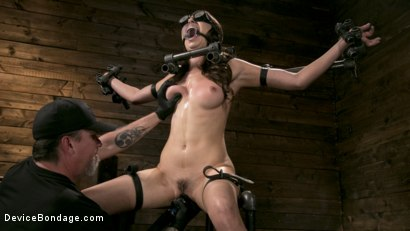 Photo number 6 from Newcomer Melissa Moore Submits to Screaming Bondage shot for Device Bondage on Kink.com. Featuring Melissa Moore in hardcore BDSM & Fetish porn.