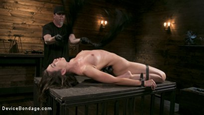 Photo number 7 from Newcomer Melissa Moore Submits to Screaming Bondage shot for Device Bondage on Kink.com. Featuring Melissa Moore in hardcore BDSM & Fetish porn.