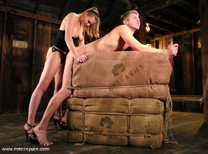 Photo number 11 from Danny Wylde and Nikki Nievez shot for Men In Pain on Kink.com. Featuring Nikki Nievez and Danny Wylde in hardcore BDSM & Fetish porn.