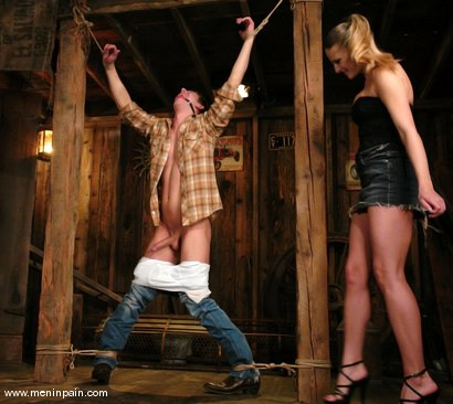 Photo number 6 from Danny Wylde and Nikki Nievez shot for Men In Pain on Kink.com. Featuring Nikki Nievez and Danny Wylde in hardcore BDSM & Fetish porn.