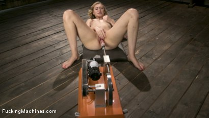 Photo number 11 from Innocent Girl Next Door is Machine Fucked Like a Whore shot for Fucking Machines on Kink.com. Featuring Alexa Grace in hardcore BDSM & Fetish porn.