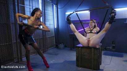 Photo number 12 from Blonde Princess Electroslut Gets Wrecked with Anal Electricity shot for Electro Sluts on Kink.com. Featuring Nikki Darling and Ella Nova in hardcore BDSM & Fetish porn.