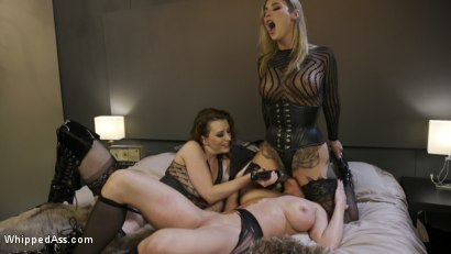 Photo number 18 from Boss Bitch Turned Anal Whore: Dee Williams Gets Double Stuffed shot for Whipped Ass on Kink.com. Featuring Kleio Valentien, Cherry Torn and Dee Williams in hardcore BDSM & Fetish porn.