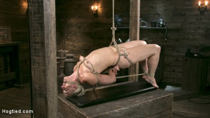 Blonde Goddess is Destroyed in Devastating Predicament Bondage