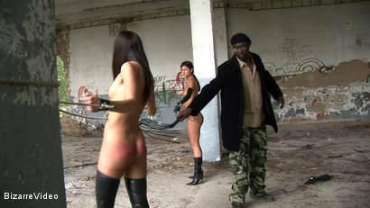 Photo number 10 from Black Master's Whip: Lucy Lee, Lucky, Mr. Smith shot for Bizarre Video on Kink.com. Featuring  in hardcore BDSM & Fetish porn.