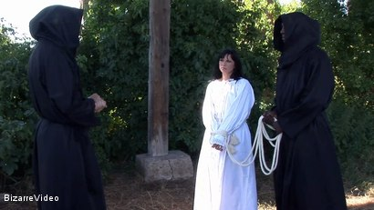 Photo number 3 from The Penance Of Sister Agnes: Renata, Baylock, Mr. Smith shot for Bizarre Video on Kink.com. Featuring  in hardcore BDSM & Fetish porn.