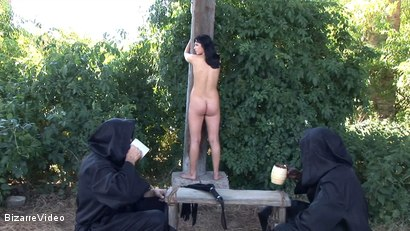 Photo number 8 from The Penance Of Sister Agnes: Renata, Baylock, Mr. Smith shot for Bizarre Video on Kink.com. Featuring  in hardcore BDSM & Fetish porn.