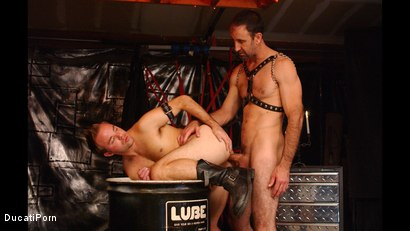 Photo number 11 from Pound the Pup: Steven Richards, Billy Dewitt shot for Ducati Porn on Kink.com. Featuring Billy DeWitt in hardcore BDSM & Fetish porn.