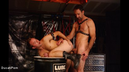 Photo number 10 from Pound the Pup: Steven Richards, Billy Dewitt shot for Ducati Porn on Kink.com. Featuring Billy DeWitt in hardcore BDSM & Fetish porn.