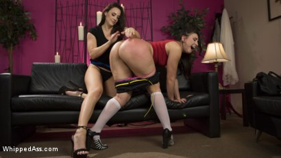 Photo number 14 from Break Up Remedy: Mandy Muse gets Spanked and Ass-Fucked shot for Whipped Ass on Kink.com. Featuring Mandy Muse and Chanel Preston in hardcore BDSM & Fetish porn.