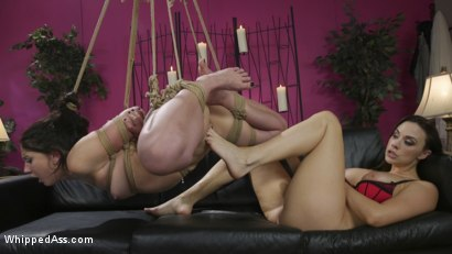 Photo number 18 from Break Up Remedy: Mandy Muse gets Spanked and Ass-Fucked shot for Whipped Ass on Kink.com. Featuring Mandy Muse and Chanel Preston in hardcore BDSM & Fetish porn.