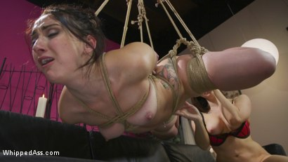 Photo number 20 from Break Up Remedy: Mandy Muse gets Spanked and Ass-Fucked shot for Whipped Ass on Kink.com. Featuring Mandy Muse and Chanel Preston in hardcore BDSM & Fetish porn.
