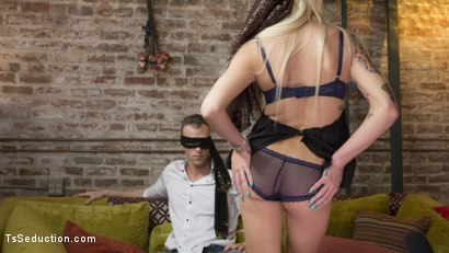 Photo number 6 from Madame Aubrey, Fortune Teller shot for TS Seduction on Kink.com. Featuring Alrik Angel and Aubrey Kate in hardcore BDSM & Fetish porn.