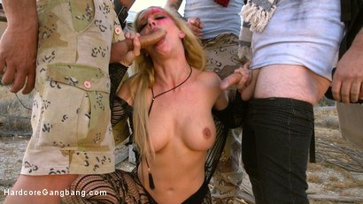 Photo number 6 from SEX WITCH: Cherie Deville Takes Five Hard Cocks in Dystopian Fuck shot for Hardcore Gangbang on Kink.com. Featuring Cherie DeVille, Tommy Pistol, Ramon Nomar, Small Hands, Will Havoc and Tarzan in hardcore BDSM & Fetish porn.