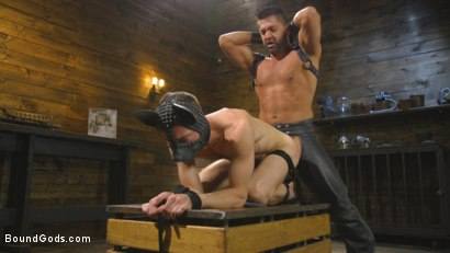 Photo number 11 from The Pup Master - Introducing: Master Pacifico shot for Bound Gods on Kink.com. Featuring Dominic Pacifico and Alex Hawk in hardcore BDSM & Fetish porn.