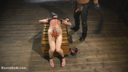 Photo number 6 from The Pup Master - Introducing: Master Pacifico shot for Bound Gods on Kink.com. Featuring Dominic Pacifico and Alex Hawk in hardcore BDSM & Fetish porn.