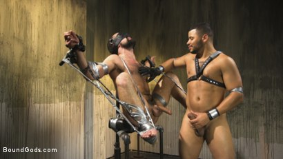Photo number 11 from Hairy tape-slave worships Master Kaden's uncut cock shot for Bound Gods on Kink.com. Featuring Kaden Alexander and DJ in hardcore BDSM & Fetish porn.