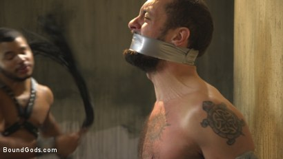Photo number 7 from Hairy tape-slave worships Master Kaden's uncut cock shot for Bound Gods on Kink.com. Featuring Kaden Alexander and DJ in hardcore BDSM & Fetish porn.