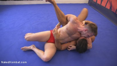Photo number 2 from Two muscled hunks back for redemption! shot for Naked Kombat on Kink.com. Featuring Trey Turner and Brian Bonds in hardcore BDSM & Fetish porn.
