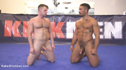Photo number 15 from Two muscled hunks back for redemption! shot for Naked Kombat on Kink.com. Featuring Trey Turner and Brian Bonds in hardcore BDSM & Fetish porn.
