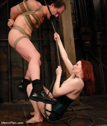 Photo number 10 from Double Header: Two Gorgeous Females Fuck and Control their Men shot for Men In Pain on Kink.com. Featuring Claire Adams, Anthony and Beverly Hills in hardcore BDSM & Fetish porn.